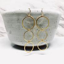 Three Hoops Earrings