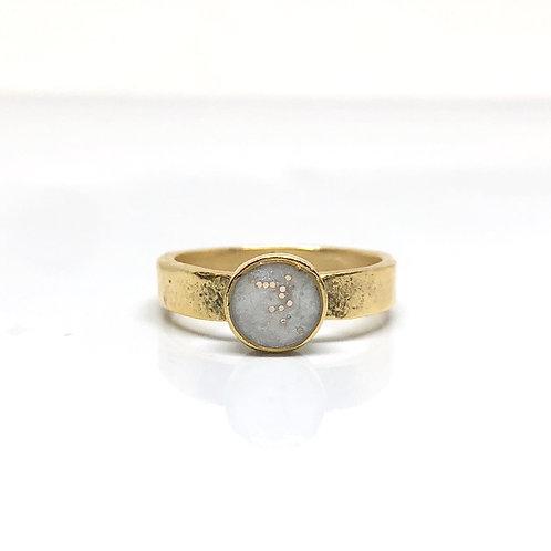 Sparkle White Ring
