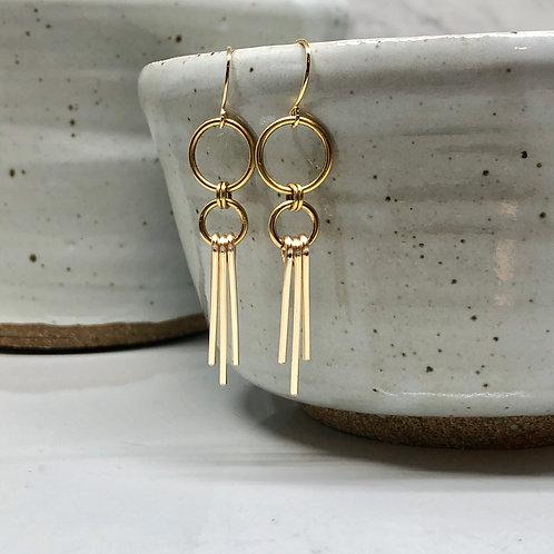 Golden Ray Earrings