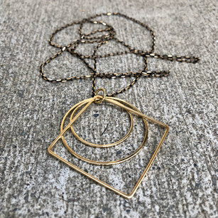 Crown Hall Necklace