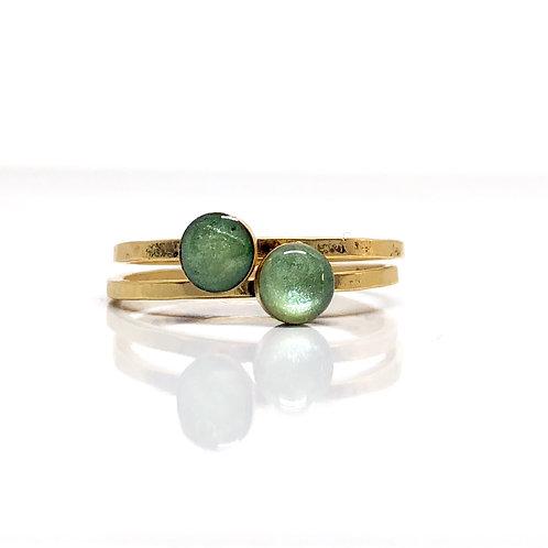Fresh Green Thin Ring