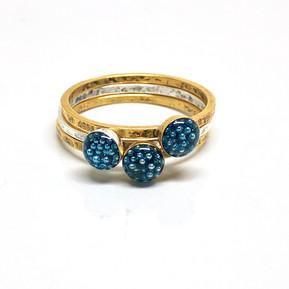Micro beads small blue Rings.jpg
