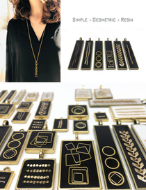 Black Resin Collection