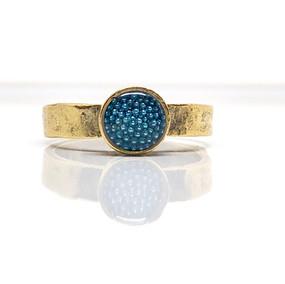 Micro beads blue Ring.jpg