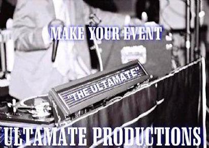 Ultamate Productions - Parties Music Lighting