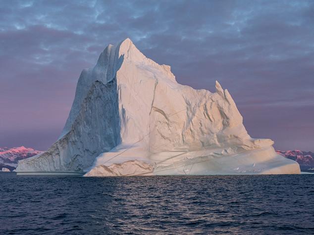 Early Morning Light Scoresby Sund, Greenland