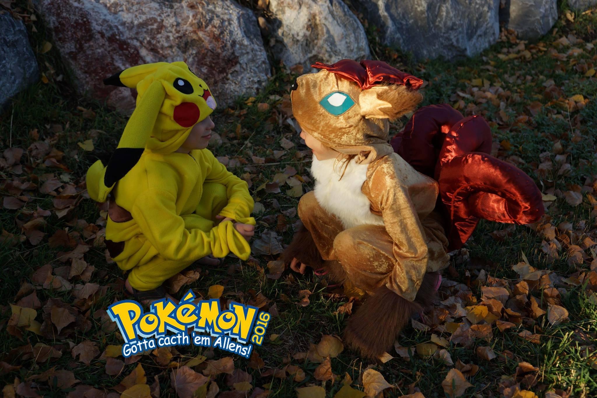 Pikachu meets Vulpix (Cyrus and Clar