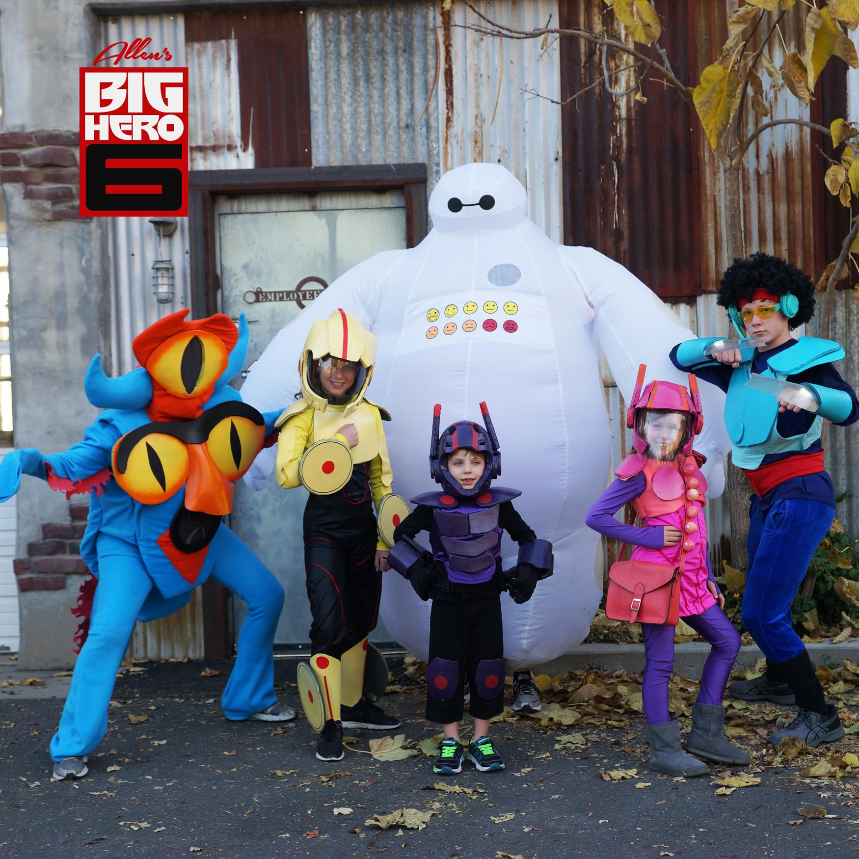 Big Hero 6 the whole gang