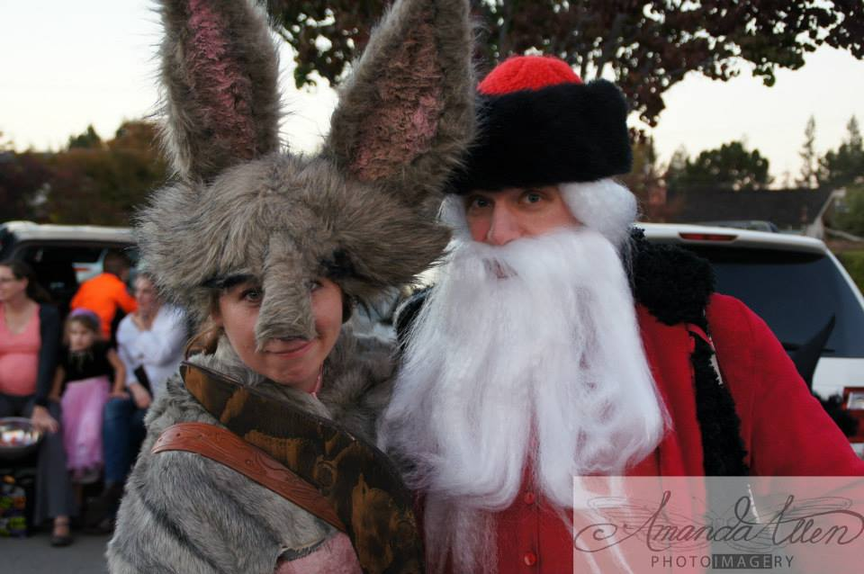 Bunny and Claus