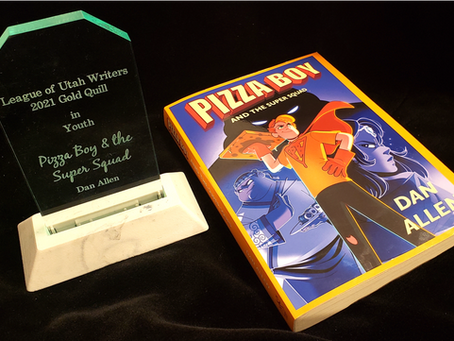Gold Quill Award for Pizza Boy!