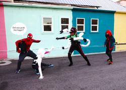 Spidermen get Dock Oct5x7