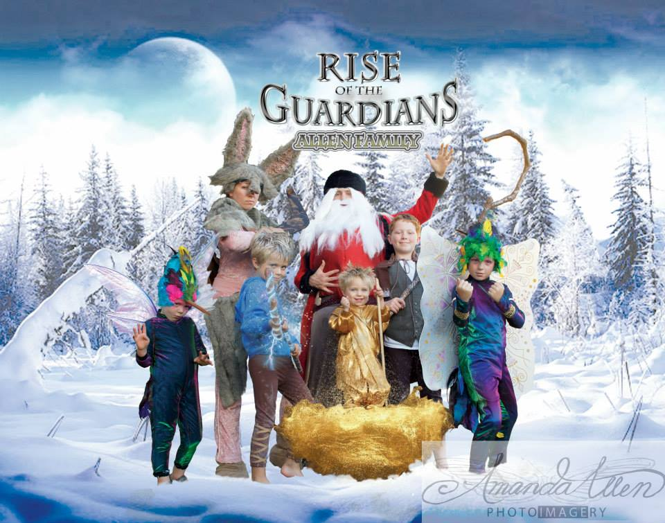 Rise of the Guardians family main