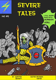Severe Tales Cover