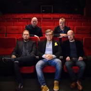 Ylhäällä: Jarkko Felin, Väinö Weckström.  Alhaalla: Sami Virkki, Kalle Veirto, Jani Tiihonen.  Photo:Meri Teerisaari