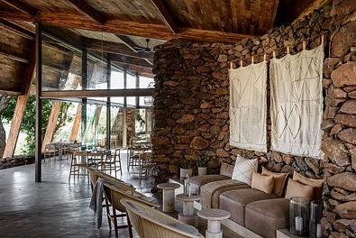 Singita faru Faru Lodge - Lounge Area an