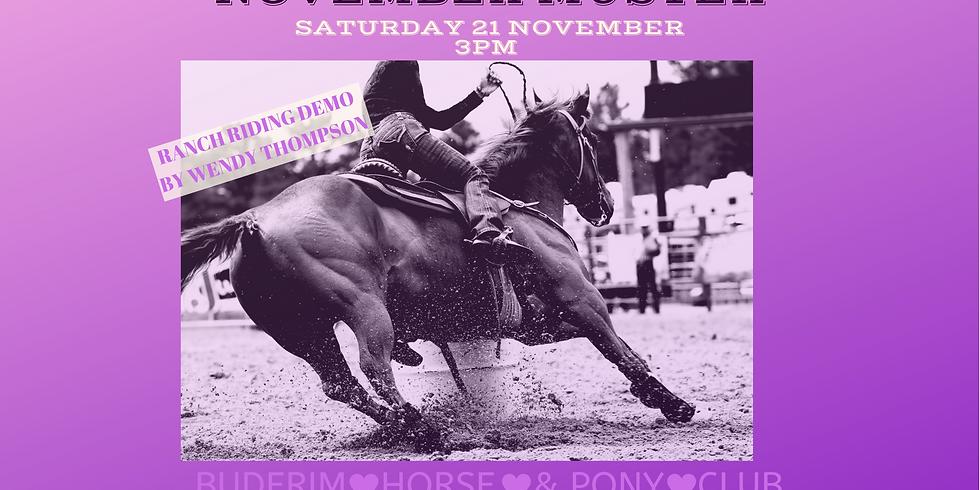 BPC November Muster Saturday 21st November 2020