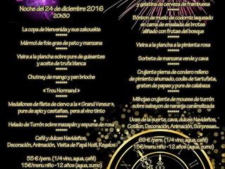 Menu Fiestas 2016
