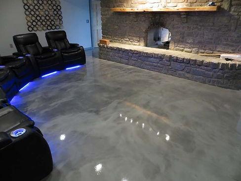 Metallic marble - Decorative Concrete Montana