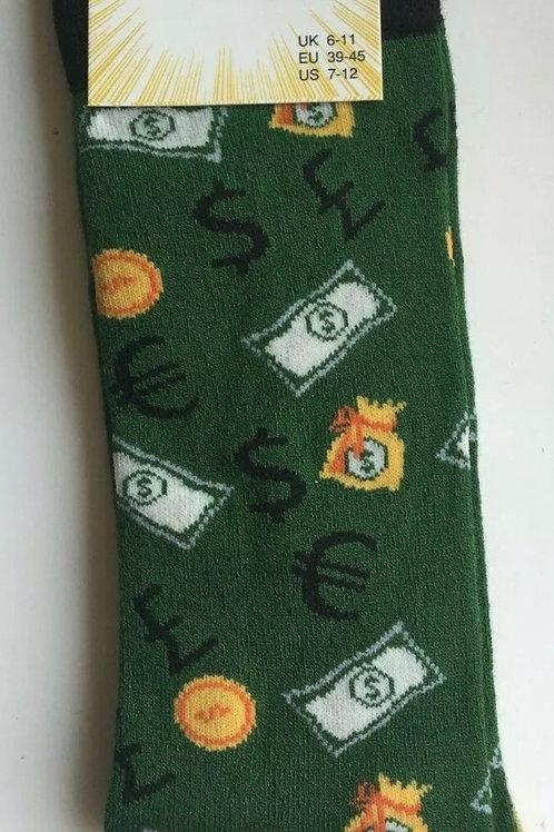 Money bamboo socks size 6-11