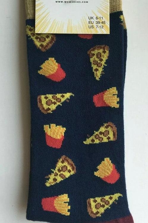 Fast food bamboo socks Size 6-11