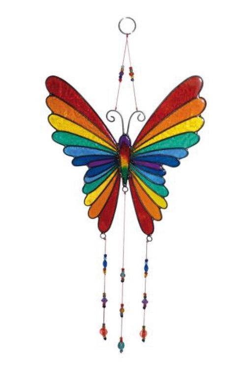 Large Butterfly rainbow Suncatcher