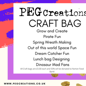 Introducing our very own Craft Bags!