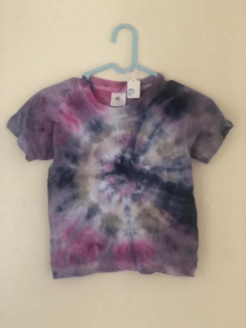 Children Hand Tie Dye Te Shirt (22)