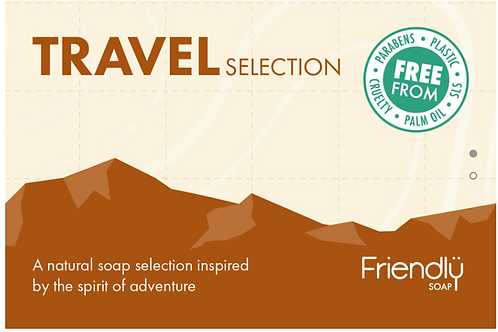 Friendly Soap Travel Selection Gift Pack