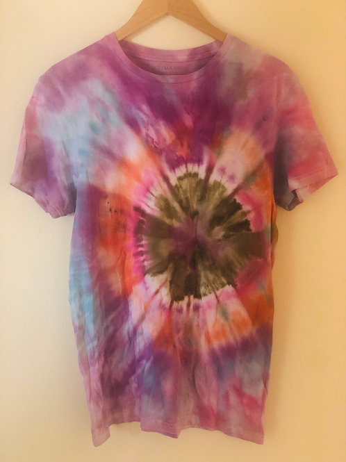 Hand Tie Dye Te Shirt
