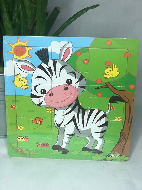 Mini Wooden Animal Puzzle