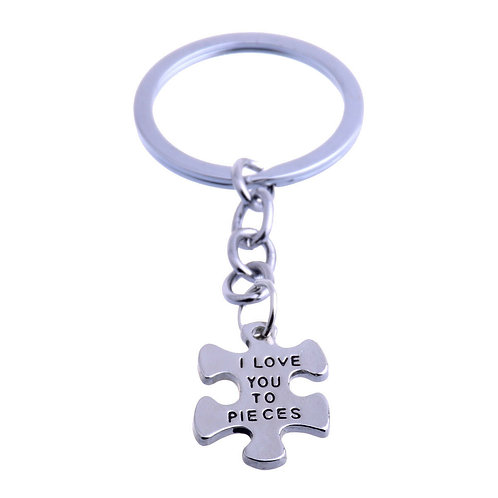 Love you to pieces Keyring