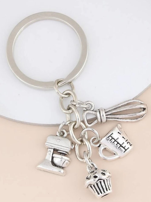 Cooking charm Key Ring