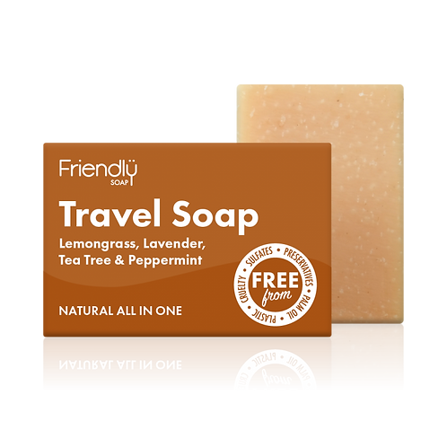 Hair and Body Travel Soap