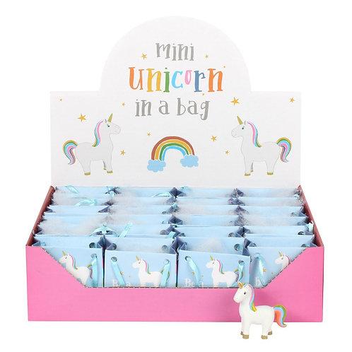 Mini Unicorn in a bag