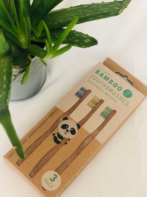 Children Natural Toothbrush Environmentally Friendly
