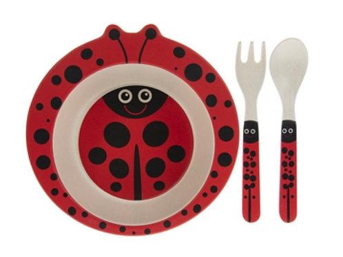 Bamboo Eco Ladybird set