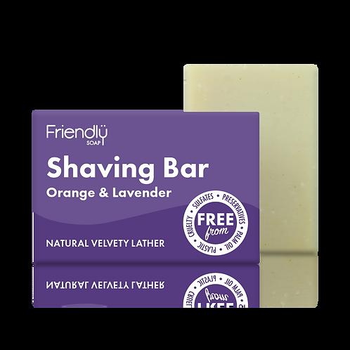 Shaving Bar - Orange & Lavender