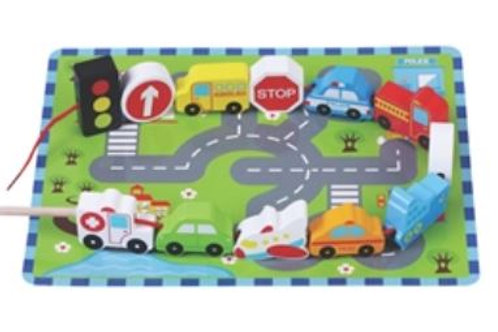 Traffic Wooden Toy