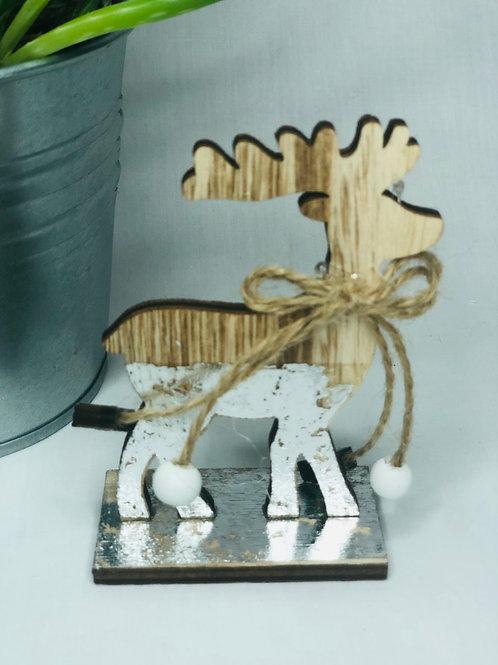 Wooden Christmas reindeer