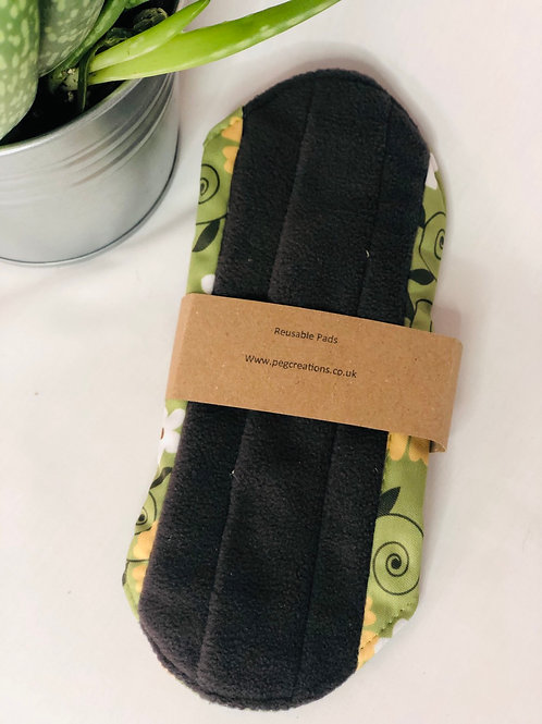 Eco Friendly Reusable Bamboo  Cloth Sanitary Pad