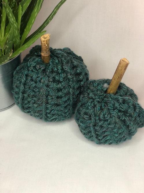 Crochet Pumpkins duo pack
