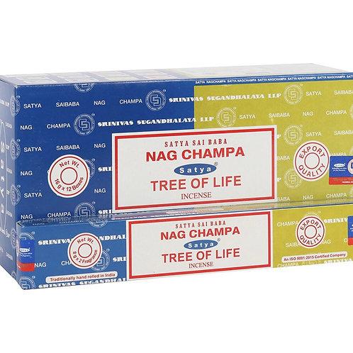 Nag champa tree of life incense sticks