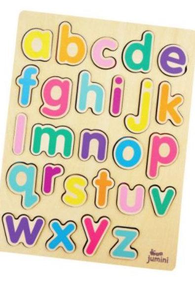 Wooden Learning Alphabet Set