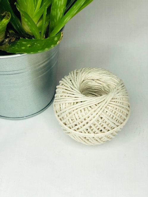 Biodegradable parcel string