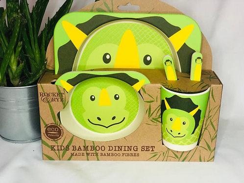 Bamboo Eco Eating Set Design