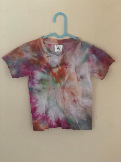 Children Hand Tie Dye Te Shirt (18)