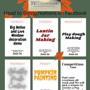 A Guide to our Half Term Craftathon on Facebook