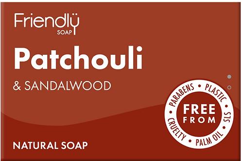 Friendly Soap - PATCHOULI & SANDALWOOD