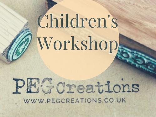 Childrens Recycling Art Workshop