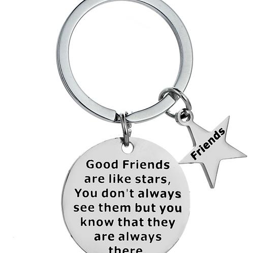 Good Friends Keyring